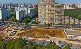 МФК «AFI Park Воронцовский»: ход строительства