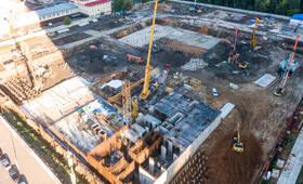 ЖК «Кронштадтский 14»: ход строительства корпуса №1.1