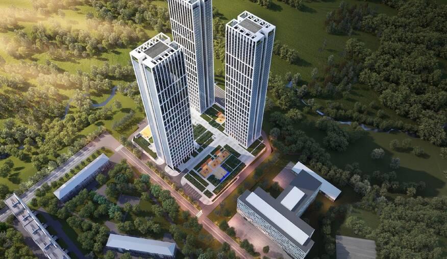 ЖК Небо от Capital Group в ЗАО (Западный административный округ), 26 квартир от 10.46 млн. руб., акции официального застройщика, отзывы, ход строительства, форум