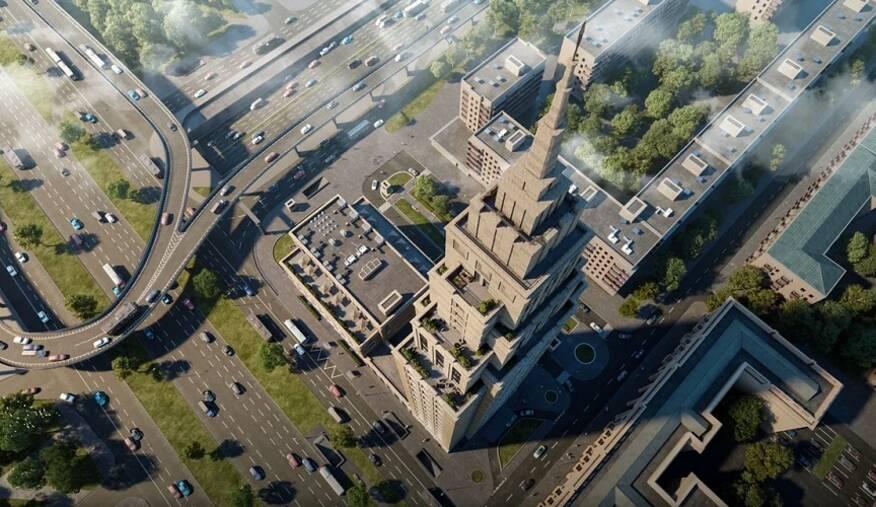 МФК «Alcon Tower»