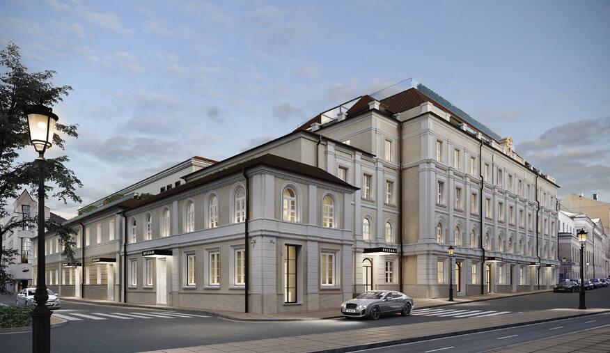 МФК «BVLGARI HOTEL & RESIDENCES MOSCOW»