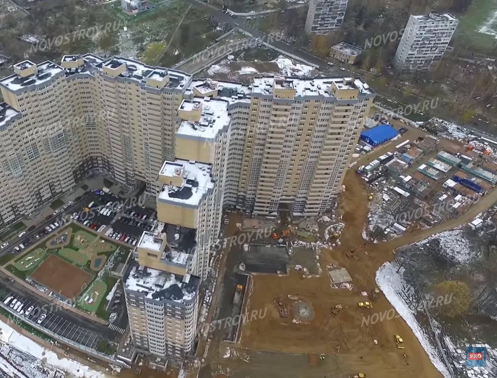 жк одинбург вид сверху фото будущем майский парк