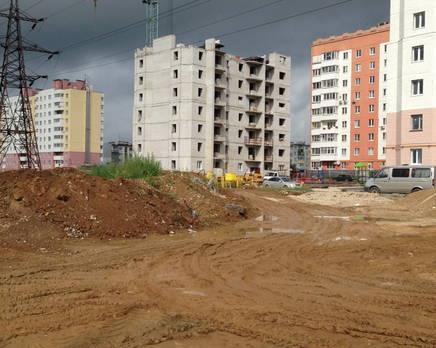 ЖК на ул. Кубяка, Октябрь 2013