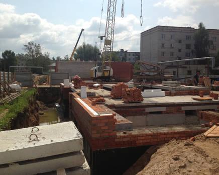 Строительство ЖК «Полярная звезда», июль 2013, Октябрь 2013