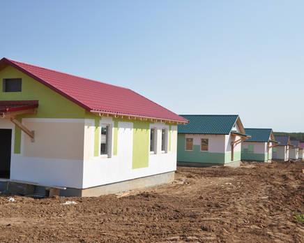 Коттеджный поселок «Воскресенское», Октябрь 2013