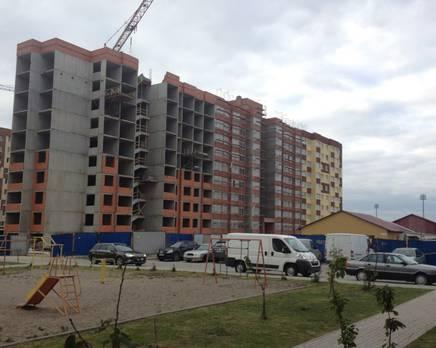 ЖК «Солнечный город», корпус №44, Октябрь 2013