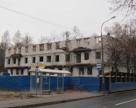 Ход строительства ЖК в Павловске (ноябрь 2013), Ноябрь 2013
