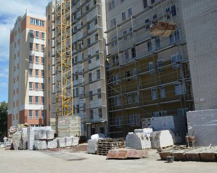 """Строительство ЖК """"Белые озера"""", июнь 2014 г., Август 2014"""
