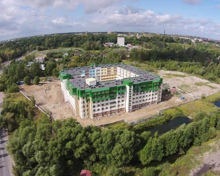 Строительство ЖК «Красное село» (21.08.14), Ноябрь 2014
