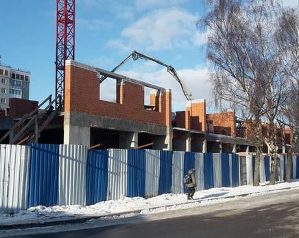 Жилой комплекс «Дом на улице Дадаева» (18.01.2016), Февраль 2016