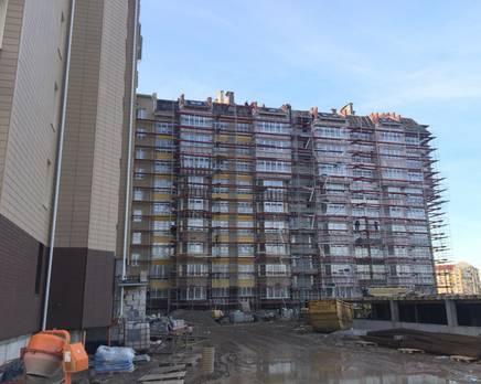 Ход строительства ЖК «Кранц-Парк», Март 2016