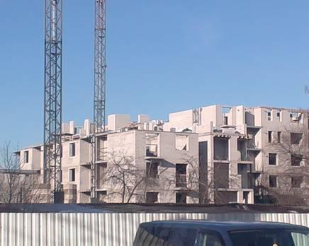 ЖК «Янтарный дом 2»: ход строительства от 14.03.2016, Март 2016