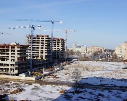 ЖК «Циолковский»: ход строительства, Апрель 2016