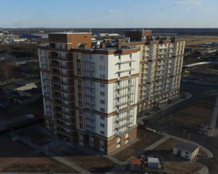 ЖК «Янинский каскад»: ход строительства, Апрель 2016