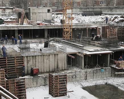 ЖК на улице Гагарина, 23А: идёт строительство комплекса, Январь 2017
