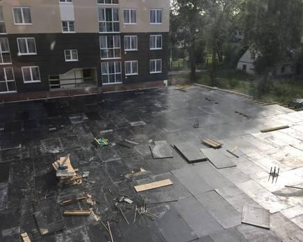 ЖК «Русский дом»: ход строительства, Июль 2017