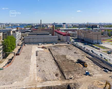 ЖК «Эмеральд на Малой Неве»: ход строительства корпуса №4, Июнь 2019