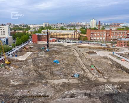 ЖК «Притяжение»: ход строительства корпуса №4, Июнь 2019
