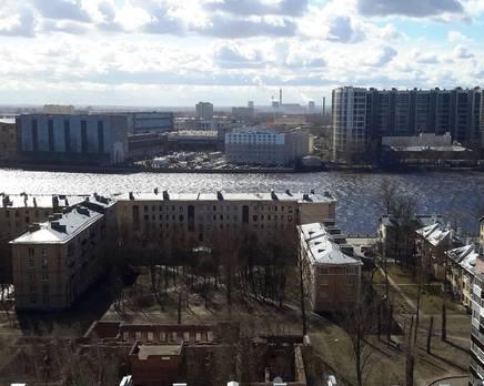 МФК Neva Sky: территория предполагаемого строительства, Июнь 2019