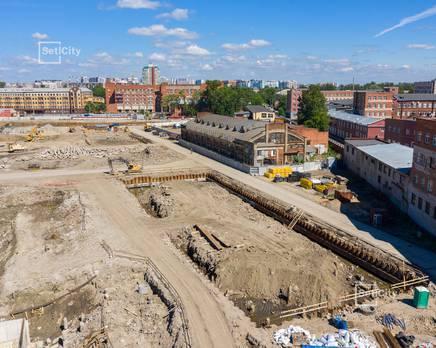 ЖК «Притяжение»: ход строительства корпуса №3, Июль 2019