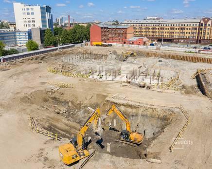 ЖК «Притяжение»: ход строительства корпуса №4, Июль 2019