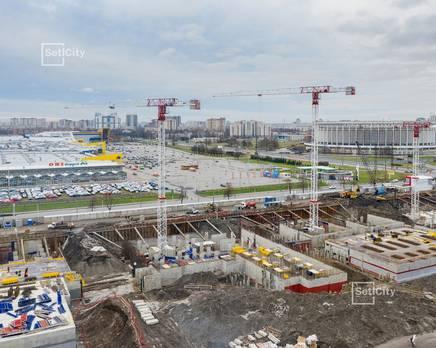ЖК «Статус у парка Победы»: ход строительства дома №1, Декабрь 2019