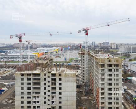 ЖК «Статус у парка Победы»: ход строительства дома №2, Декабрь 2019