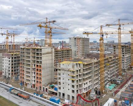 ЖК «Стрижи в Невском»: ход строительства корп. 1, Май 2020