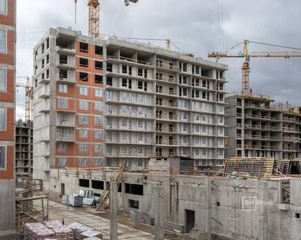 ЖК «Стрижи в Невском»: ход строительства корп. 2, Май 2020
