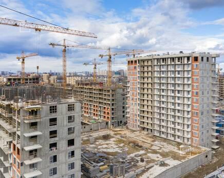 ЖК «Стрижи в Невском»: ход строительства корп. 3, Май 2020