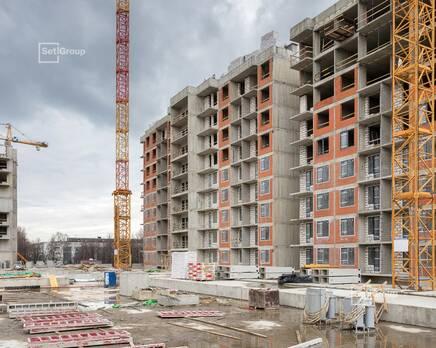 ЖК «Стрижи в Невском»: ход строительства корп. 4, Май 2020