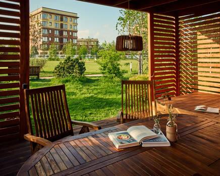 Малоэтажный ЖК Vnukovo Country Club, Август 2020