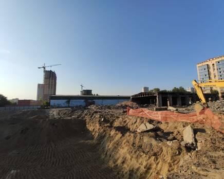 ЖК «Расцветай на Красном»: ход строительства, Август 2020