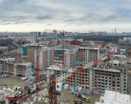 ЖК «Панорама парк Сосновка»:  ход строительства корп. 1, Декабрь 2020