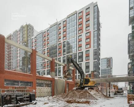 ЖК «Стрижи в Невском»: ход строительства корпуса 1, Январь 2021