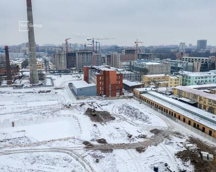 ЖК «Панорама парк Сосновка»:  ход строительства корп. 2, Январь 2021
