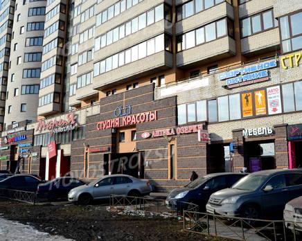 Магазины на первом этаже жилого комплекса «Дом на проспекте Славы» (24.02.2013), Март 2013