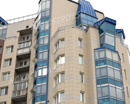 Фасад жилого комплекса «Каравелла» (26.02.2013), Март 2013