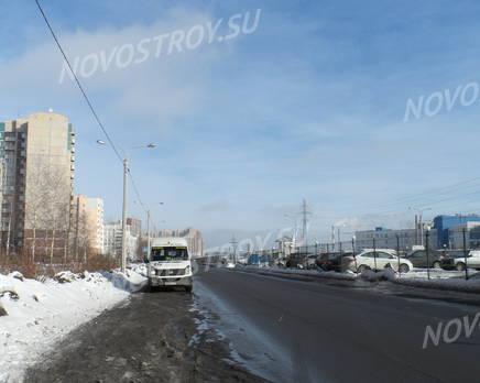 Окрестности жилого комплекса «Юнтоловская перспектива» (25.02.2013), Март 2013