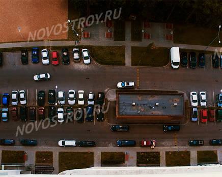 Панорама на двор ЖК «Дом на Трудовой (10.07.2013 г.), Август 2013
