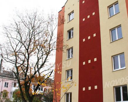 Жилой дом на ул. Беговой 1В, Октябрь 2013
