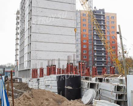 Процесс строительства ЖК на ул. Гагарина, 11 (01.11.2013 г.), Ноябрь 2013