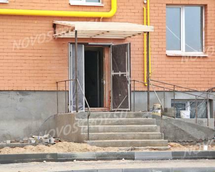 Строительство ЖК на ул Спартака, 9 (08.11.2013 г.), Ноябрь 2013