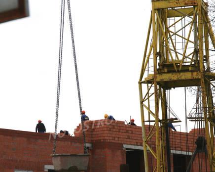 Строительство ЖК на ул. Зои Космодемьянской (11.11.2013 г.), Ноябрь 2013