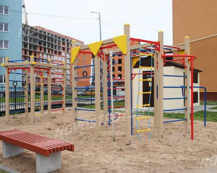 Детская площадка ЖК «Первомайский» (10.11.2013 г.), Ноябрь 2013