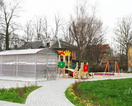 Детская площадка ЖК на ул. Воздушной, Декабрь 2013