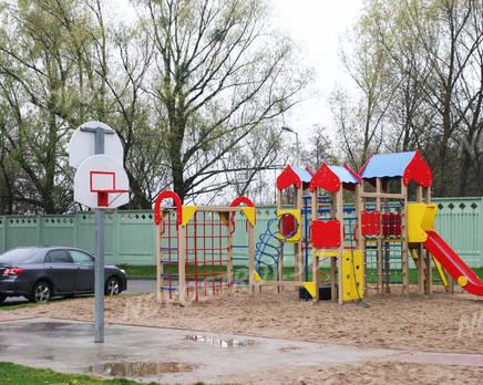 Детская площадка ЖК «Королевский» (29.11.2013 г.) , Декабрь 2013