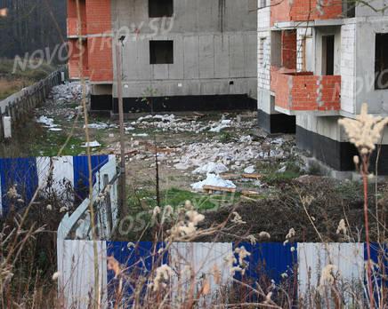 Стройплощадка ЖК «Смольный парк» (29.11.2013 г.), Декабрь 2013