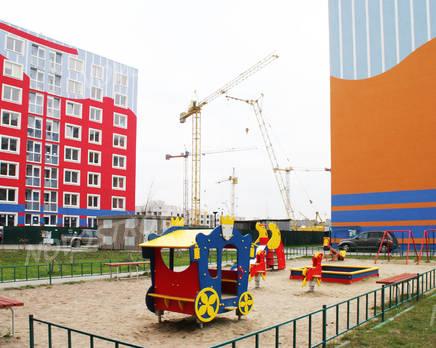 Детская площадка ЖК «Балтийская радуга» (29.11.2013 г.), Декабрь 2013