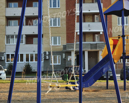 Детская площадка ЖК «Борисоглебский» (15.10.2013 г.), Декабрь 2013